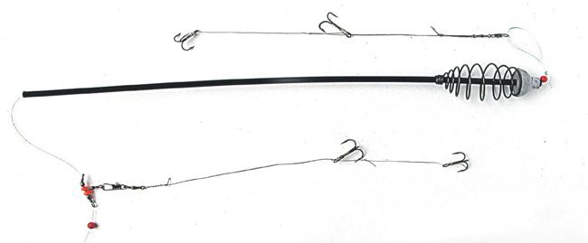 ловля судака на фидер с берега